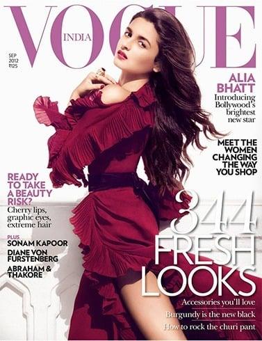 Alia Bhatt on Vogue