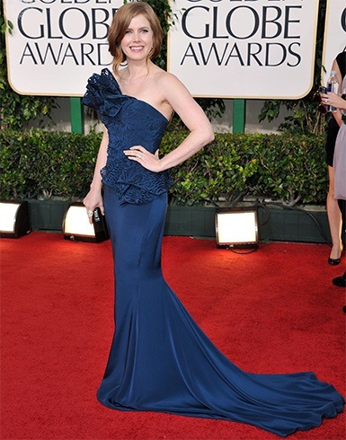 Amy Adams at Golden Globes 2011