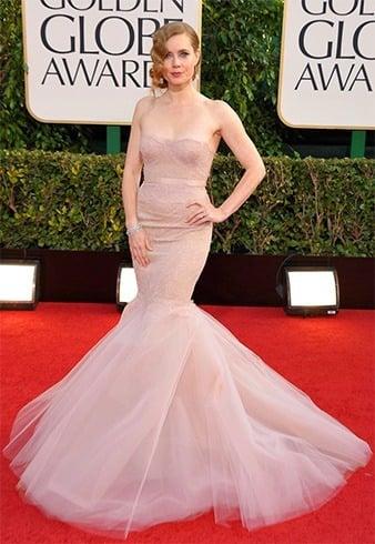 Amy Adams at Golden Globes 2013
