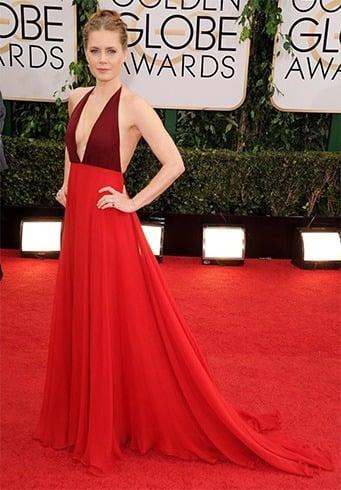 Amy Adams at Golden Globes 2014