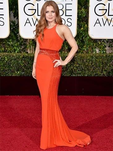 Amy Adams at Golden Globes 2016