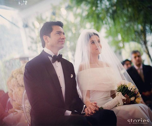 Asin and Rahul Sharma Christian Wedding