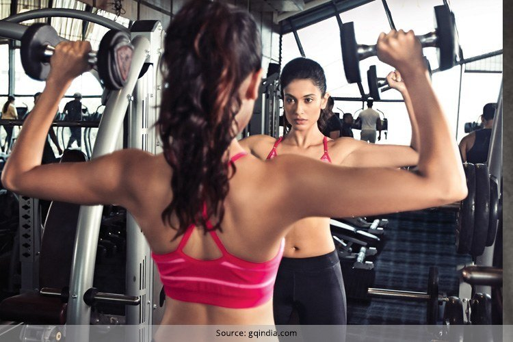 Bollywood Actresses Gym