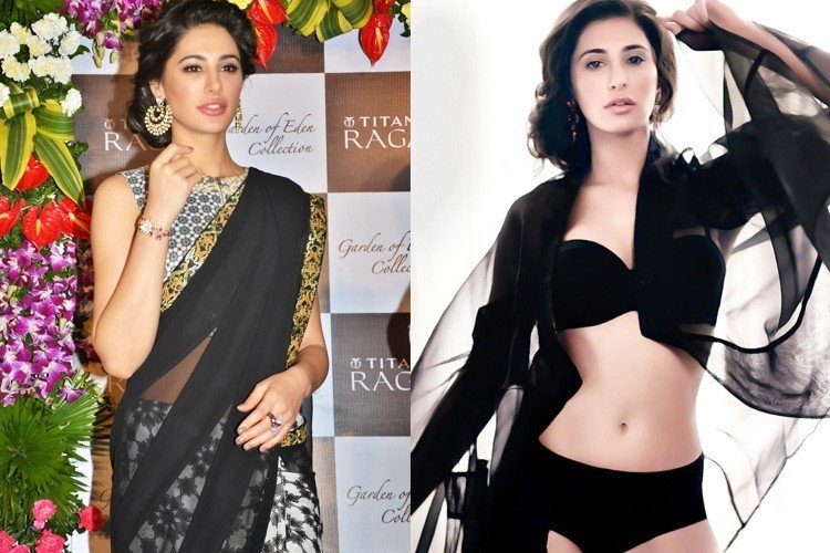 Bollywood Actresses in Saree and Bikini