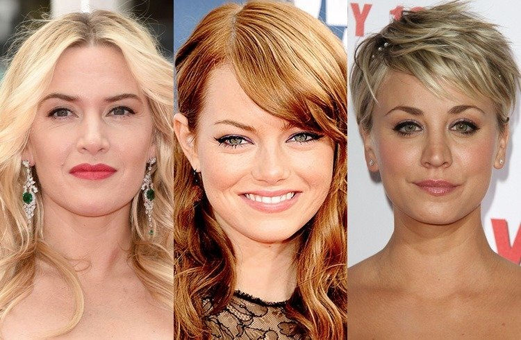 Hollywood celebrities in dark brows