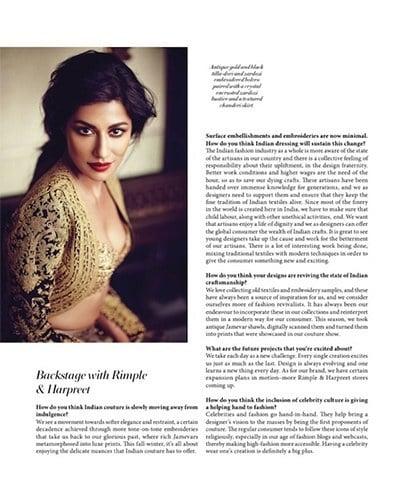 Chitrangada Singh Bridal Look for LOfficiel India