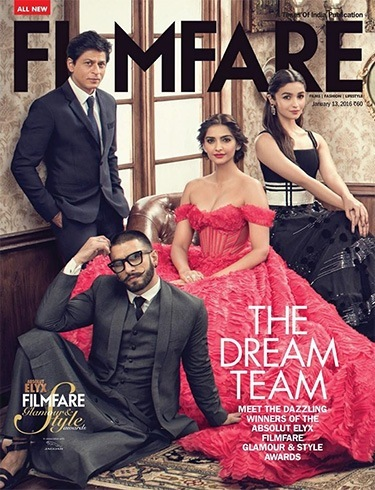 Cocktail of Celebrities on Filmfare