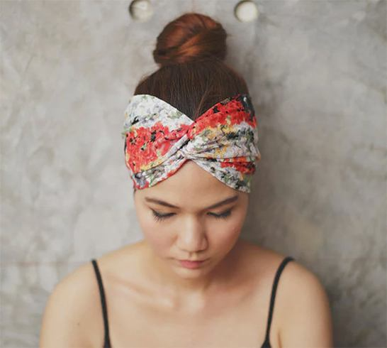 how to wear a bandana not on your head