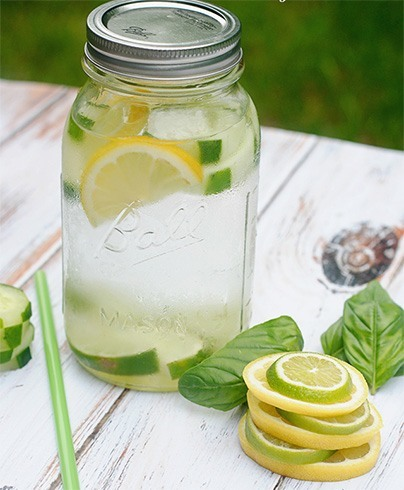 Cucumber And Lime Water