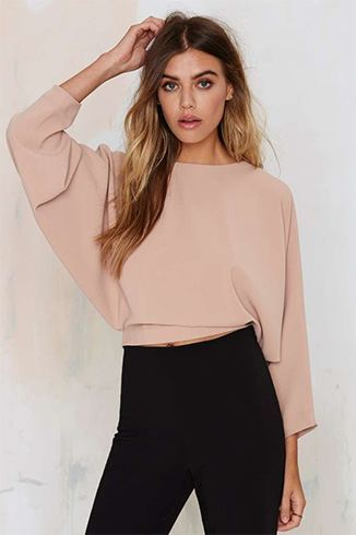 How To Wear A Crop Top In Winter- 10 Cute And Very Stylish ...