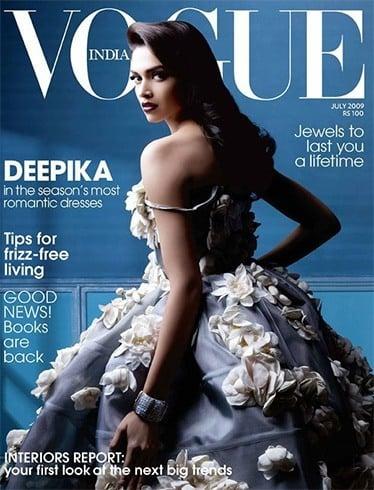 Deepika Padukone on Magazine Covers Page