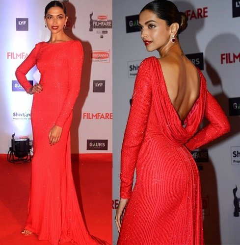 Deepika Padukone at 2016 Filmfare Awards