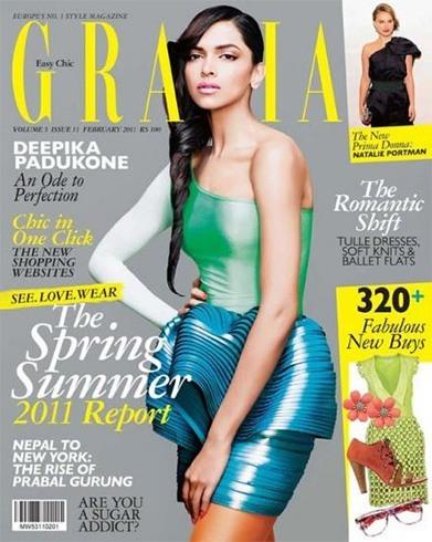 Deepika Padukone on Grazia Magazine