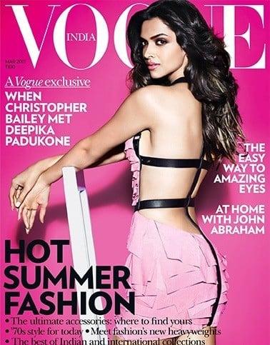 Deepika Padukone on Vogue Magazine