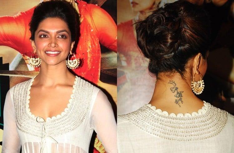 Deepika Padukone Tattoo