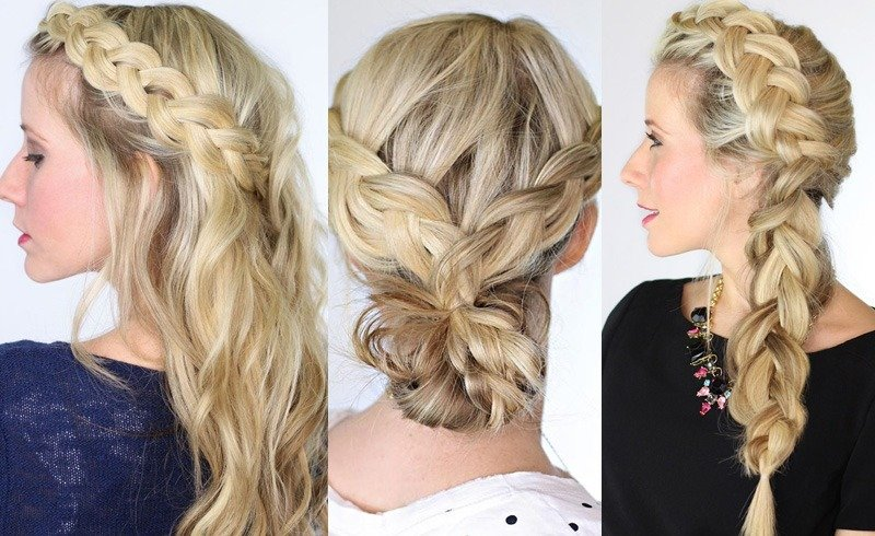 Go flawlessly french with the french braid diy french braid solutioingenieria Gallery