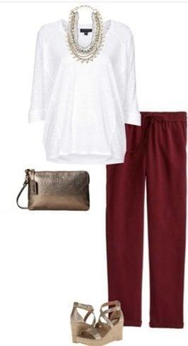 Drapey pants fashion