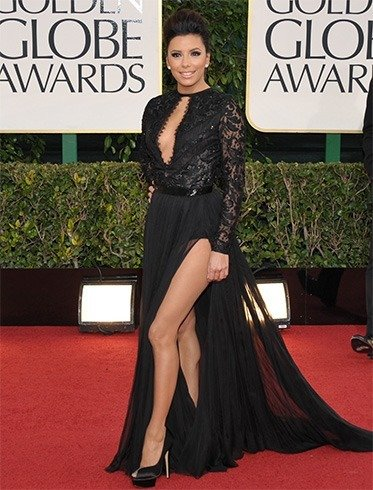 EvaL ongoria at Golden Globes Awards 2013