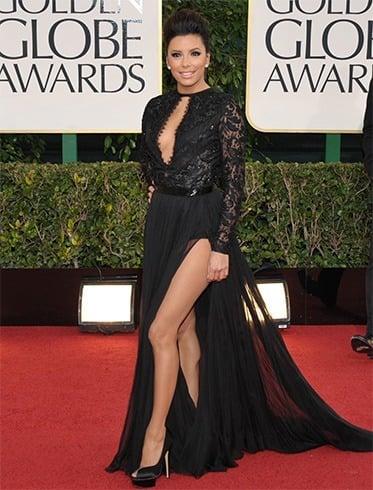 EvaL ongoria at Golden Globes Awards 2013