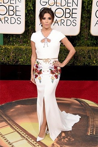 EvaL ongoria at Golden Globes Awards 2016
