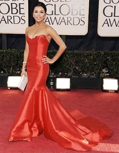 EvaL ongoria at Golden Globes Awards 2009