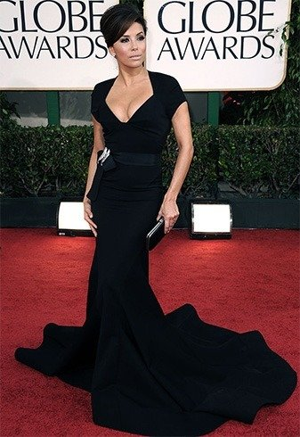 EvaL ongoria at Golden Globes Awards 2011