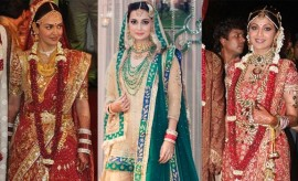 Most Expensive Bollywood Wedding Dresses