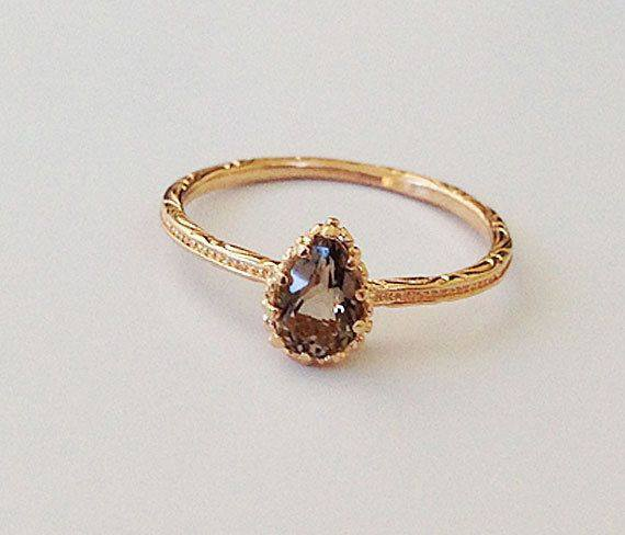 Gold-filled ring