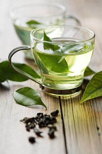 Green tea without sugar