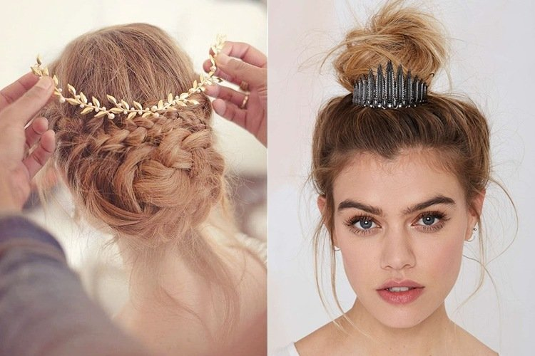 Hairstyle Bun : ... Hairstyle 2016 further Gothic Prom Dresses. on hairstyles dress formal