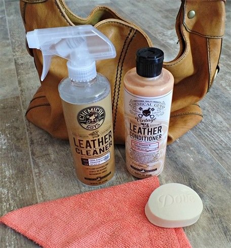 DIY Clean Leather Bag