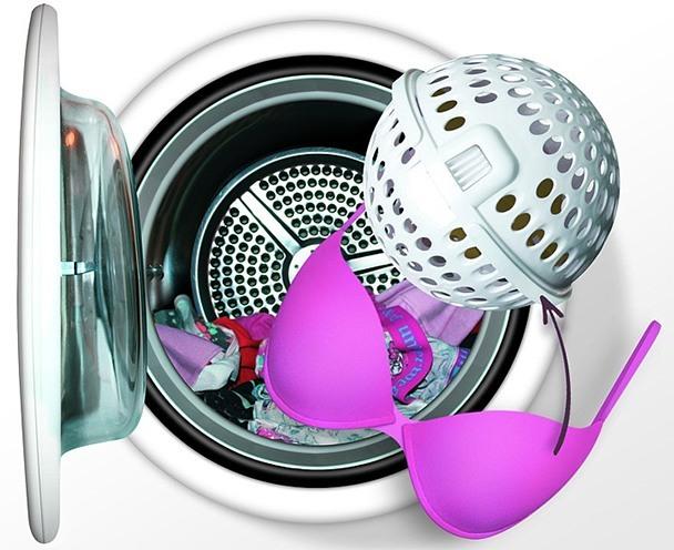 machine washing bras