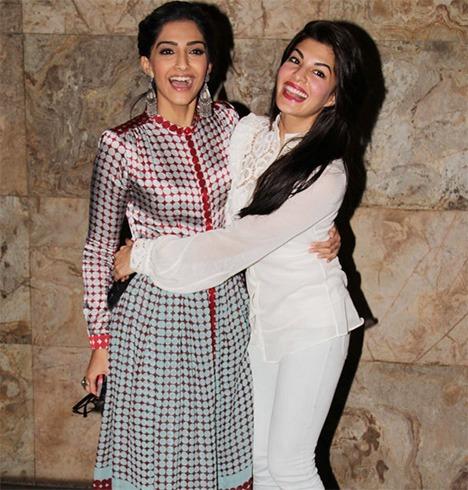 Jacqueline Fernandez and Sonam Kapoor
