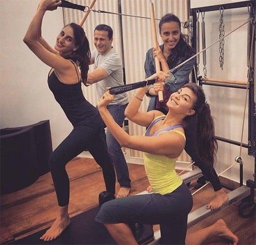 Jacqueline Fernandez in gym