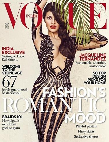 Jacqueline Fernandez on Vogue