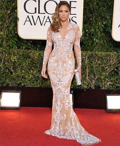Jennifer Lopez at Golden Globes Awards 2013