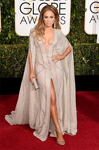 Jennifer Lopez at Golden Globes Awards 2015