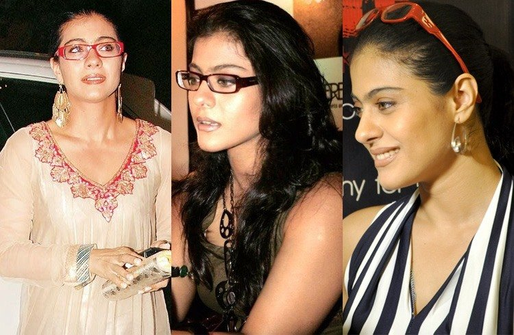 Kajol rectangular glasses
