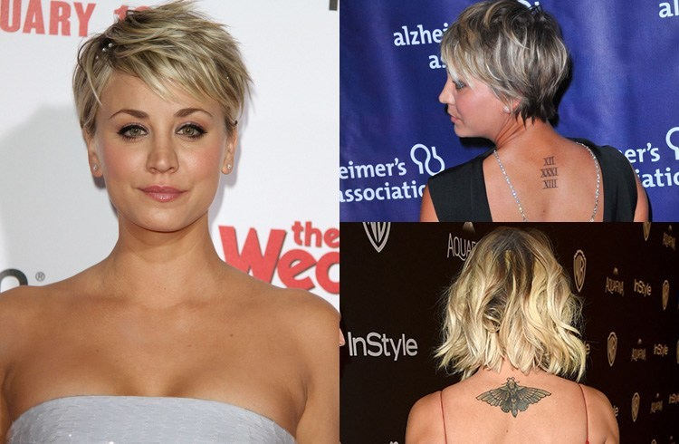 Kaley Cuoco Tattoo