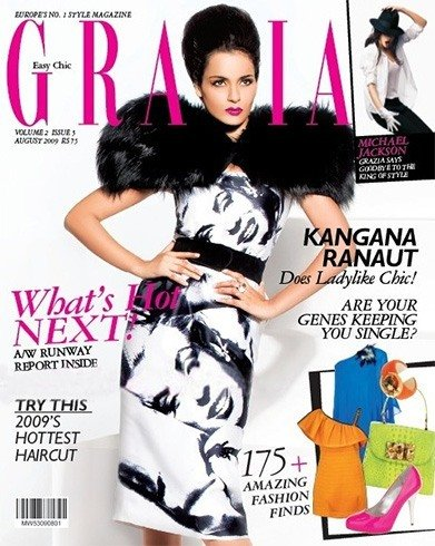 Kangana Ranaut on Magazine Cover