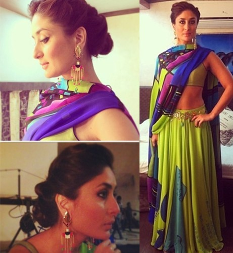 Kareena Kapoor in Green Lehenga