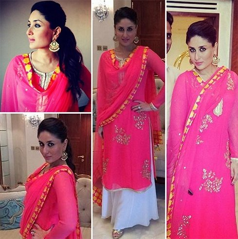 15 Best Looks Of Kareena Kapoor Fashion In Indian Wear Sabyasachi Kurtis