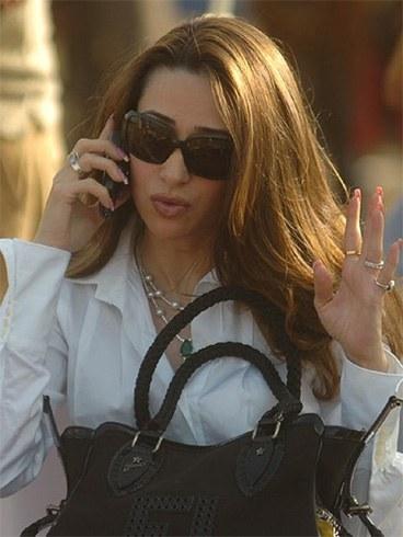 Karishma Kapoor nails