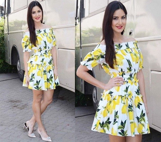 Katrina Kaif in Dolce and Gabbana mini