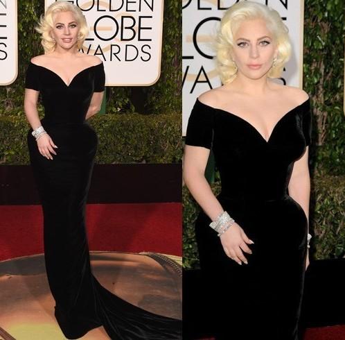 Lady Gaga at 73rd annual Golden Globe Awards