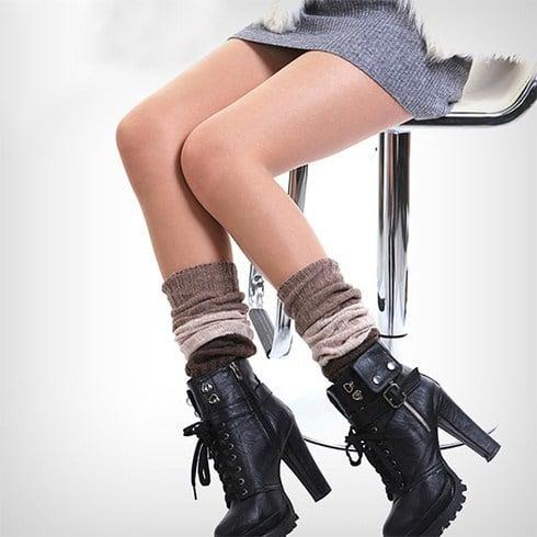 Leg Warmers with High Heels