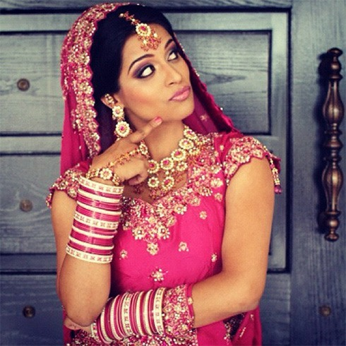 Lilly Singh desi look