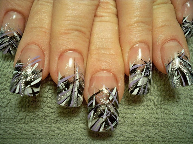 Unique Long Nail Designs