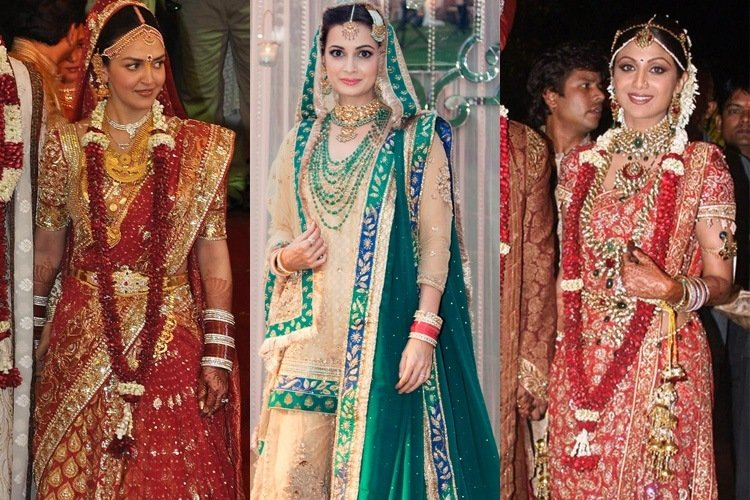 7 most expensive bollywood wedding dresses flaunted by for Most expensive wedding photographer in the world