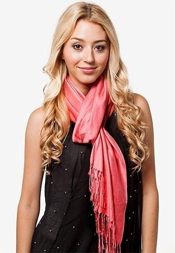 pashmina scarf tying